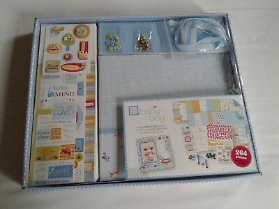 Deja Views Baby Boy 264 Pieces 8 x 8 Album Kit