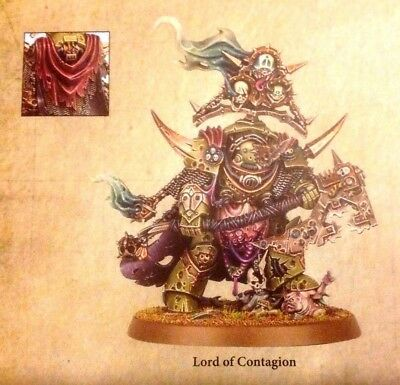 Dark Imperium Death Guard 1 x Lord Of Contagion Brand New unassembled.