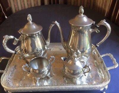 Viners Silver Plated 4 Piece Tea/Coffee Set