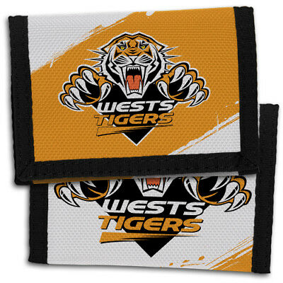 NRL West Tigers Nylon Sports Wallet