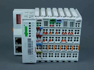 Wago Ethernet FieldBus Controller w/ Modules 750-881