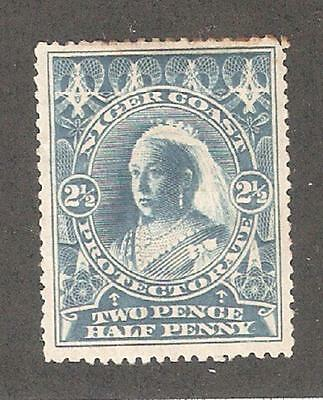 Niger Coast 1897,Queen Victoria,2 1/2p,Sc 58,Mint Hinged* (N-2)