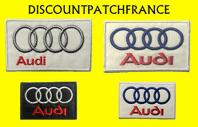 AUDI RACING. Patch écusson thermocollant brodé aufnäher toppa embroided patches.