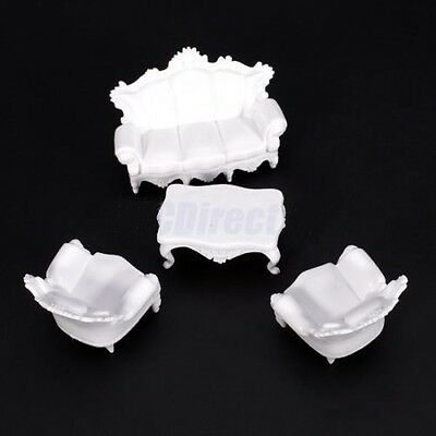 New 4Pc Outdoor Garden Party Setting Settee Set 1:25 G SCALE