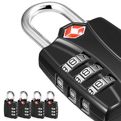 Approved 3-Dial Travel Luggage TSA Combination Lock ULTRA-Strong
