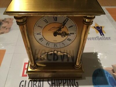Antique Johmids Schmid 8 day striking carriage clock