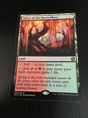 Mtg Magic Iconic Masters - Grove Of The Burnwillows (Nm)