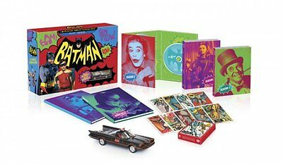 Batman Complete Series LIMITED EDITION BLU-RAY SET EXTRAS UltraViolet Show Cards