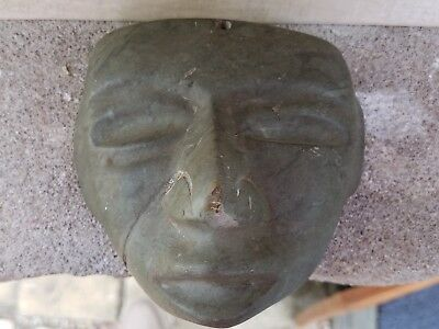 Authentic Pre-Columbian Teotihuacan Stone Mask, Mexico