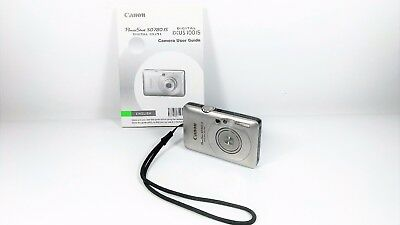 Canon PowerShot Digital ELPH SD780 IS 12.1MP Digital Camera w/ User Guide