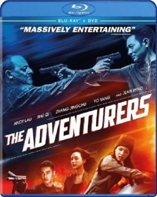 THE ADVENTURERS (Andy Lau) -  Blu Ray - Sealed Region free for UK