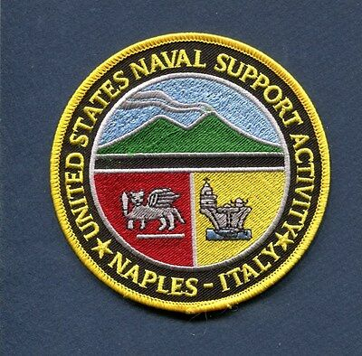 Italy Patch Naval Support Activity Naples