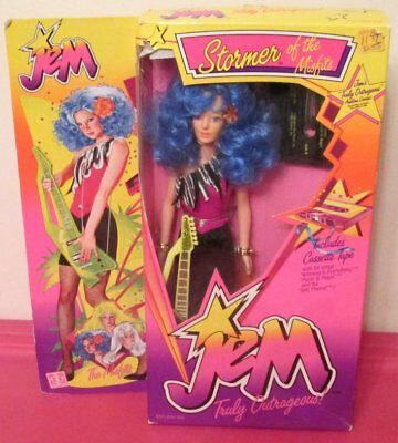 Stormer of the Misfits Doll -Vintage Hasbro Jem- 1985