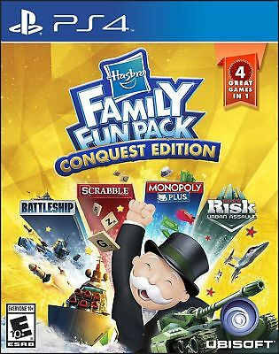 Hasbro Famil Fun Pack: Conquest Edition For PlayStation 4