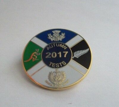 Scotland Rugby Group Badge Autumn Tests 2017