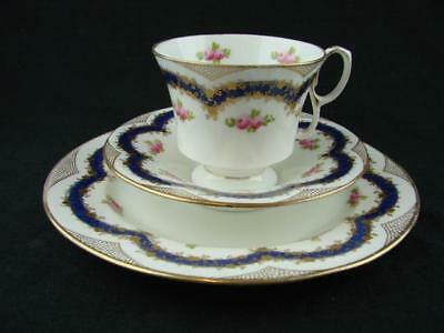 BEAUTIFUL CROWN STAFFORDSHIRE TRIO, RETAILERS STAMP ALFRED B PEARCE & Co