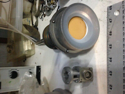 Sputtering head. Two inch sputtering head on a 1 inch feedthrough with DC power