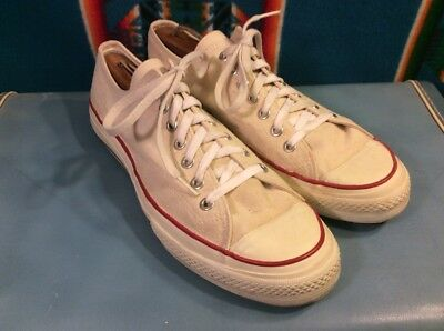 Vintage Classic 80's Bob Wolf Canvas Tennis Shoes Men's 10.5 Made in Japan!