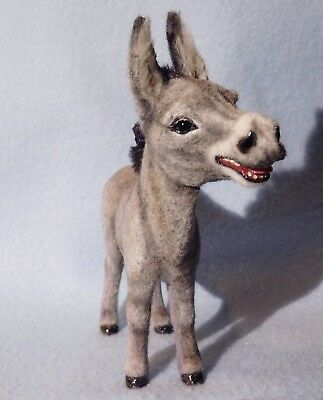 Original Milton Burro for Your 1/12th Scale Barnyard, Cute with Dog etc, Cammi's