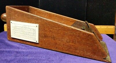 Early/Antique Gamblers Poker/Playing Card Dealer shoe
