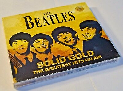 The Beatles - Solid Gold The Greatest Hits On Air - NEW 2 CD Set   Digipack