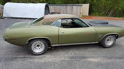 1970 Plymouth Barracuda Gran Coupe 1970 Plymouth Barracuda Gran Coupe 383 V8 auto needs restoration