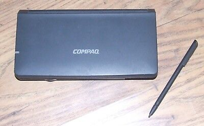RARE VINTAGE COMPAQ C120+ WinCE PDA RETRO HANDHELD COMPUTER Collectible in GWO!