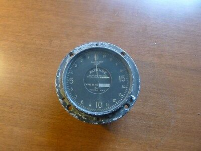 WW1 Aviation Altimeter
