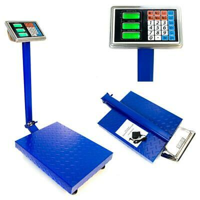 Heavy Duty Electronic Postal Parcel Platform Scales - 660LB 300kg/100g Weight