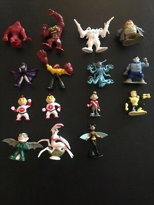 Bandai Teen Titans Minis Lot Of 15 No Duplication