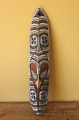 Vintage Papua New Guinea Tribal Carved mask .