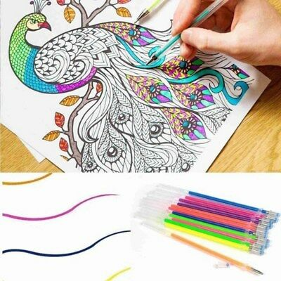 24/48Colors Watercolor Marker Pen Soft Brush Calligraphy Sketch Drawing Painting