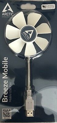 ARCTIC Breeze Mobile USB-Powered 92mm Portable Fan, Portable Cooling Solution, Q