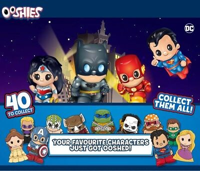 Ooshies Pencil Toppers DC Comics Marvel Series 1 & 2 Common Rare Limited