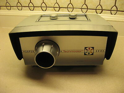 Vintage Super 8 Technicolor Instant Projector With Original Box Model 580