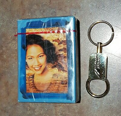 Philippine airlines deck of cards and key chain lot