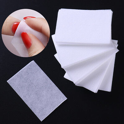 1000Pcs Lint-Free Nail Polish Remover Cotton Wipe Clean Wipes Pads Paper Tips