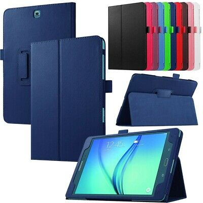"""For Samsung Galaxy Tab A 8.0"""" SM-T350 / 9.7"""" SM-T550 Smart PU Leather Cover Case"""