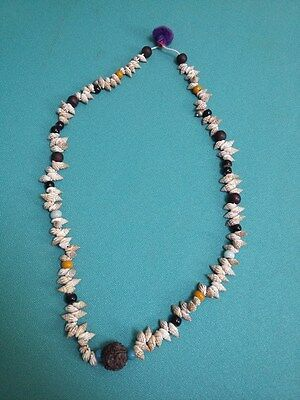 Rare Old Antique Collectible Ethnic Jewellery Tribal Indian Amulets Necklace #79