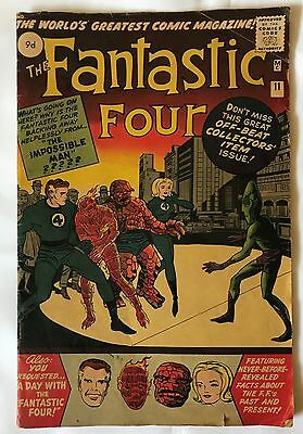 Fantastic Four #11 February 1963