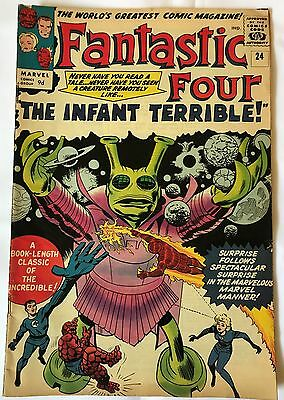Fantastic Four #24 - Mar 1964