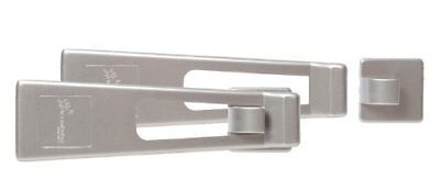 Dreambaby Refrigerater and Appliance Latch (Pack Of 2, Silver colour)