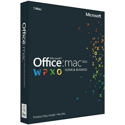 Office Home and Business 2011 for Mac Licence Key
