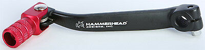 Hammerhead Forged Shift Lever Black/Red fits 1996-2007 HONDA CR80/CR85