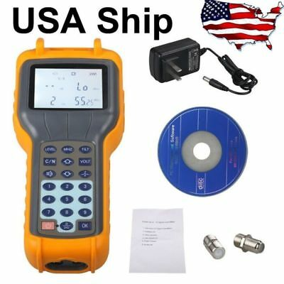 USA Ship RY S110 CATV Cable TV Handle Digital Signal Level Meter DB Tester Tool