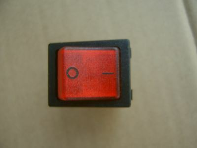 82.XX.8 Rocker Switch 82XX8 RED color illumination, 16A 250V
