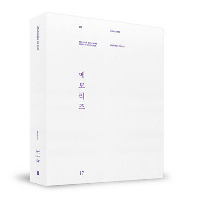 BTS MEMORIES OF 2017 DVD 5CD+Binder+Photo Book+Frame+Post Card+Photo Card SELAED