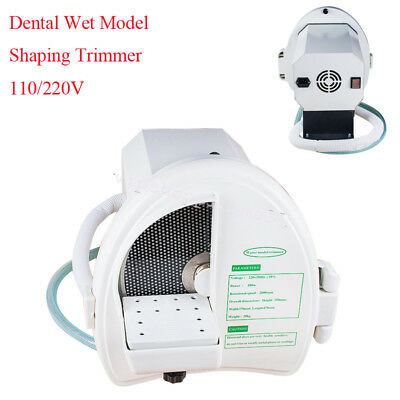 Dental Lab Wet Model Shaping Trimmer Abrasive Diamond Disc Wheel 110V/220V Nice