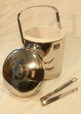 Retro Chrome Ice Bucket Zojirushi Elephant Christmas New Year Party Drinks Gift