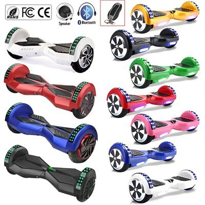 6,5/8,0/10 Zoll Bluetooth Hoverboard E-Scooter E-Balance Scooter mit Tasche DE W